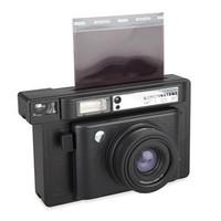 是镜头盖也是红外线遥控快门:Lomography发布全新拍立得相机 Lomo'Instant Wide