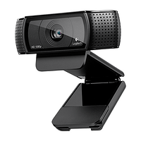 配备光学镜头:Logitech 罗技 高清网络摄像头 PRO C920