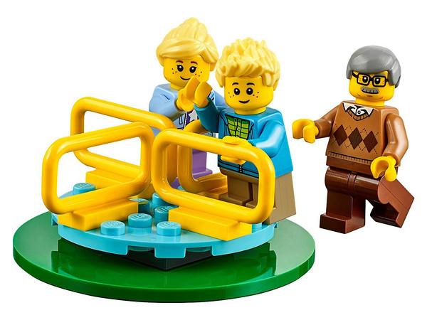 城市人口大增長:樂高lego 60134城市人仔套裝發布圖片