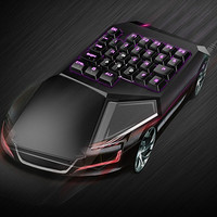 大小两款:DeLUX 多彩 GT樱桃轴电竞机械键盘 登陆京东众筹