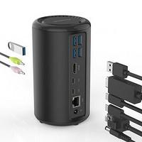 扩展接口众多:ORICO 奥睿科 发布 Type-C USB扩展坞 ADS5