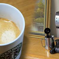 不晒对不起大伙儿:值友送我 Donlim 东菱 DL-KF600 20bar意式浓缩 半自动咖啡机