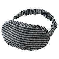 棉天竺眼罩 约9×20cm / 麻海军蓝×麻灰色