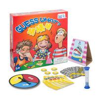 猜猜猜 亲子互动儿童桌游玩具桌上游戏動腦/创意/语言/表達力训练