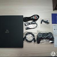 英亚预售直邮SONY 索尼 PS4 Pro 开箱晒单