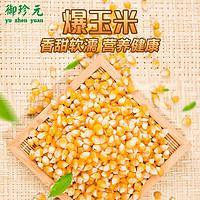2件包邮 爆米花专用原料玉米粒小玉米杂粮干货 非甜糯玉米棒 500g