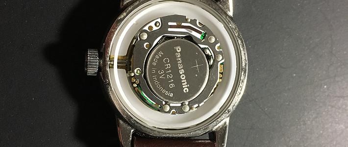 这是一个哭笑不得的故事 — 我的天美时手表换电池记