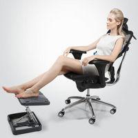 西昊/SIHOO 人体工学电脑椅子 办公椅 老板椅转椅  B7 黑框黑网