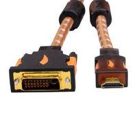 黄刀(yellowknife) YK73  HDMI转DVI线 高清转换线 1米