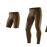 丑到没朋友的2XU Military军版压缩裤的初步使用 (图片有毒慎入)