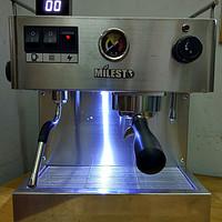 MILESTO 迈拓 EM-19-M2 伊丽娜(新版)意式半自动咖啡机开箱