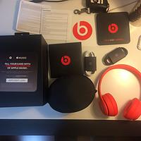 新春礼物----Apple活动的Beats 骚红 Solo3 Wireless 头戴式耳机 开箱流程