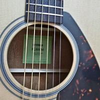 YAMAHA 雅马哈 FG800 民谣吉他 开箱评测