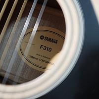 给男人的礼物:YAMAHA 雅马哈-F310 印尼进口民谣吉他