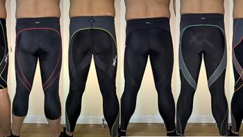 一个跑步装备党:逛什么值得买的这一年购买的CW-X压缩裤们