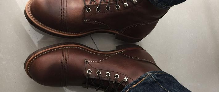 跨年的第一双Red Wing 红翼 工装靴 —— 8111