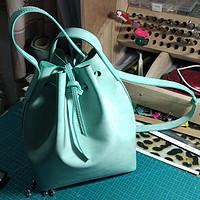 #情人礼# 此物最相思:DIY薄荷绿水桶包