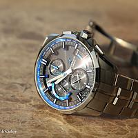 #原创新人#心中期待已久的一抹蓝色,CASIO 卡西欧 海神OCEANUS OCW-S3000 男表