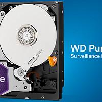 #本站首晒# WD 西部数据 3T监控紫盘WD30PURX
