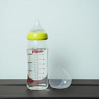 我心中最可靠的通用之选——Pigeon 贝亲 宽口玻璃 240ml 奶瓶 使用介绍