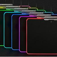 意外收获的 AJAZZ 黑爵 RGB游戏发光鼠标垫