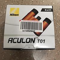 Nikon 尼康 ACULON T01 8x21 双筒望远镜简单开箱晒单