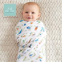 aden+anais美国品牌多功能抱毯婴儿襁褓新生儿包巾裹布4只装