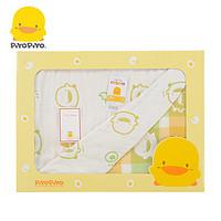 黄色小鸭 六层立体纱四季被 礼盒装 被子 六层纱 纱布 810701