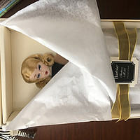#值女研究所# 少女心可以一直有——Barbie 芭比 Collector珍藏款 DGW54 法式风衣装模特(金标)