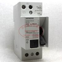 原装进口正品西门子2P电磁式漏电保护断路器 5SM3312-0 RCCB 25A
