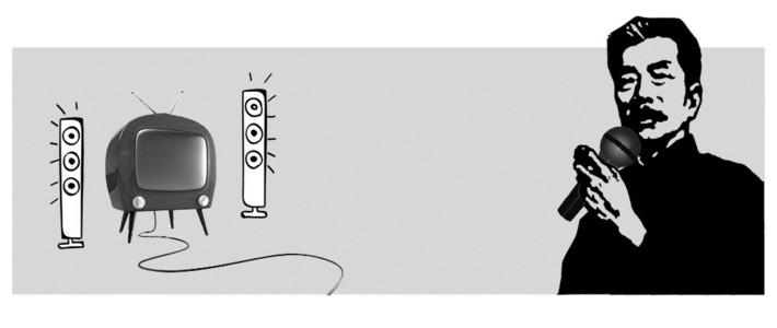 家庭量贩式专业KTV系统的组建 卡拉OK音响音箱功放无线麦K歌