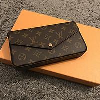 #本站首晒# Lousi Vuitton M61276 Chain Wallet开箱晒单