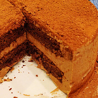 为自己庆生 — 巧克力慕斯蛋糕