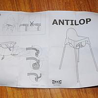 名不虚传的超值:IKEA 宜家 安迪洛 儿童高脚座椅