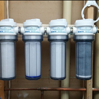 家庭净水系统升级 篇一:watts 沃茨 全屋过滤透明滤瓶开箱