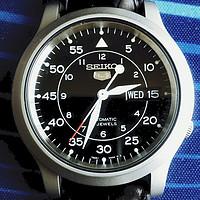 我今年买了个表:Seiko 精工 sekio5系列 SNK809 男款机械表