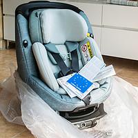 #本站首晒# MAXI-COSI 迈可适 AxissFix Plus 儿童安全座椅