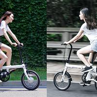 小米骑记 & 云马mini 两小电动助力折叠车多图细节比较