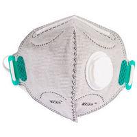 MASkin KN95828510 雾霾防护口罩KN95(蝶形)活性炭单呼吸阀10只装