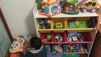#原创新人#爱丽思 IRIS  宝宝的玩具收纳架