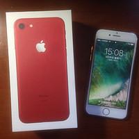 #本站首晒# Apple 苹果 iPhone 7  红色!