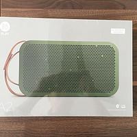 德亚直邮海淘Bang&Olufsen BeoPlay A2 绿色蓝牙音箱体验