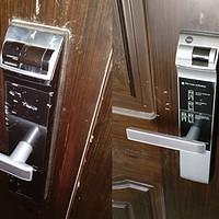 3年的守护到被恶意破坏—记耶鲁4109指纹密码锁  (附新旧款锁芯对比)