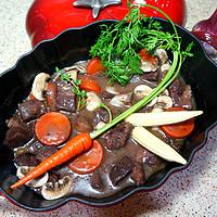 枫の私房 篇137:来一起做简单&正统的法餐吧:勃艮第红酒炖牛肉 Boeuf Bourguignon