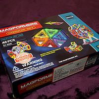 便于收纳的磁力积木:Magformers 麦格弗 Carnival Set 摩天轮套组 开箱