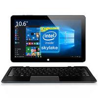 酷比魔方 i7手写本 10.6英寸二合一平板电脑(Intel skylake 酷睿芯 wacom电磁手写 4GB/64GB硬盘)前黑后蓝