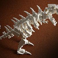 我的 LEGO 乐高 MOC系列4 — T-Rex