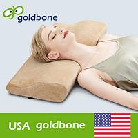 美国骨得金 15秒慢回弹记忆棉枕头枕芯 护颈枕保健记忆枕颈椎枕头