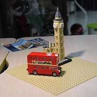 不惑大叔的legogo 篇一:英伦红色双层巴士lego40220
