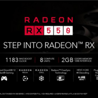 针对网游、主打能耗表现:AMD 正式推出 RX 550 显卡